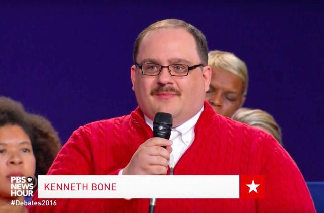 Memes made the presidential debate great again