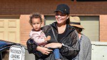 Chrissy Teigen hits back at Instagram 'parenting police' over fears she'd 'break daughter's legs'