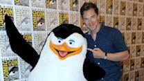 Cumberbatch Brings 'Penguins' to Comic-Con