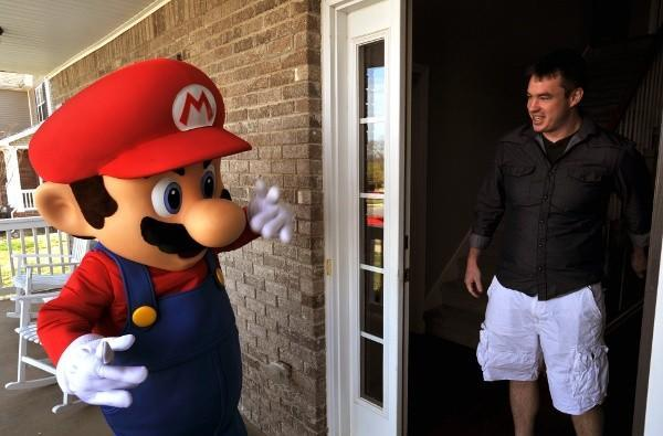 Caption Contest: Mario stops by for a surprise visit