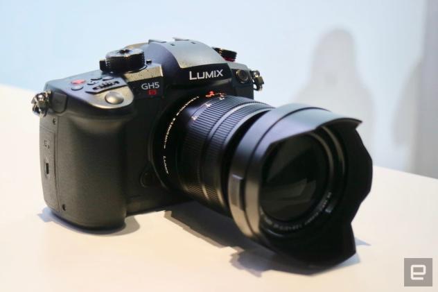 A first look at Panasonic's GH5s mirrorless camera