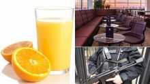 Leading criminal lawyer in row with airport lounge after it 'accused him of stealing orange juice'