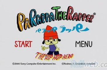 Watch PaRappa rap right on your PSP [m]