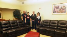 Conn's HomePlus Upgrades Barrett House Community Room with Furniture Donation