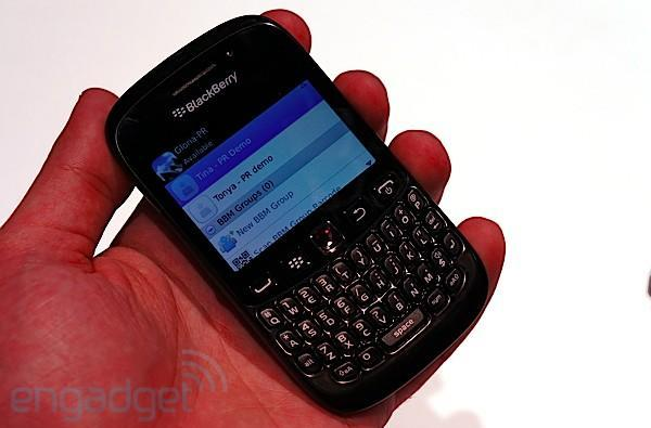 BlackBerry Curve 9220 hands-on