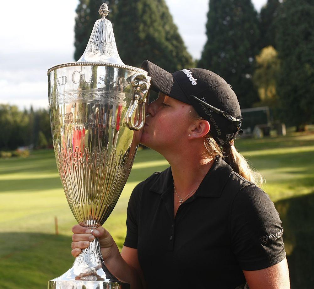 Ernst wins LPGA's Portland Classic in playoff
