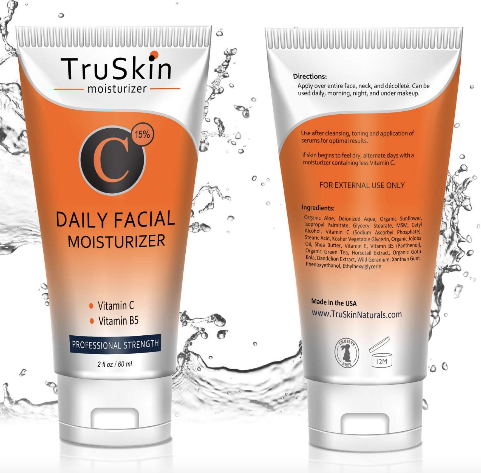 TruSkin Naturals Vitamin C Cream for Face