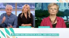 This Morning viewers bemused as woman claims she has 'proof' her family were abducted by aliens