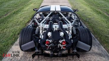 Ferrari「絕對穩輸」!Ford GT MK1「最強機壓改」2000hp式樣