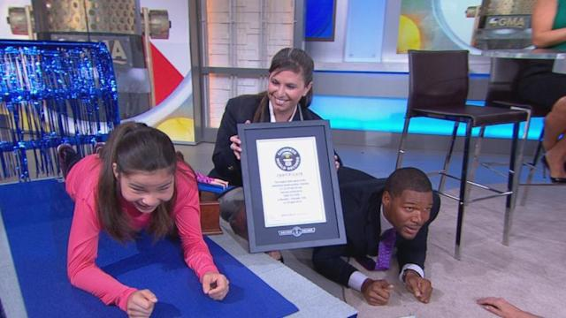 Girl, 16, Holds World Planking Record