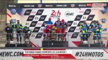 Moto - 24h du Mans : Le podium de la 43ème édition
