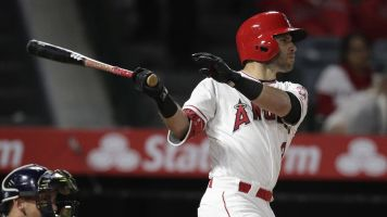 This Angels infielder is out-homering Trout