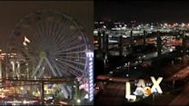 Santa Monica Ferris Wheel, LAX Gateway Pylons Go Dark For Earth Hour