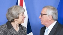 Juncker won't renegotiate Brexit deal in phone call with May this week