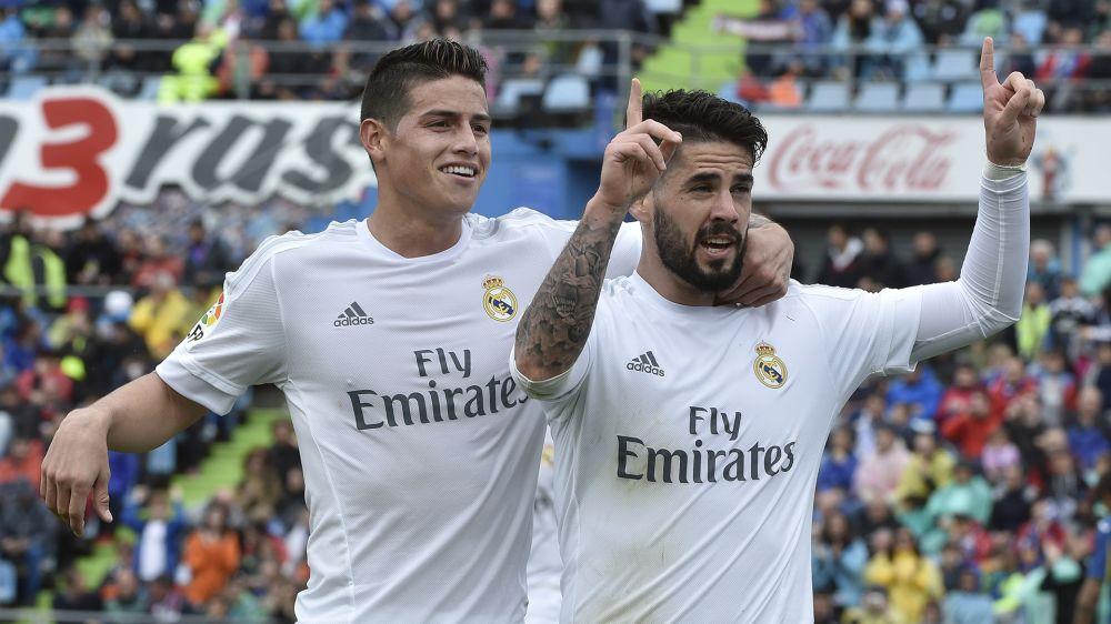 Com Real Madrid próximo de renovar com Isco, James pode deixar clube