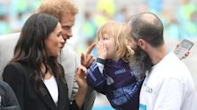 Adorable moments of kids freaking out when they meet the royal family