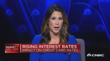 Rising interest rates and credit card balances