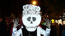 Political satire was on parade at Halloween in NYC