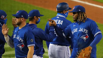 Blue Jays arrive in playoffs ahead of schedule