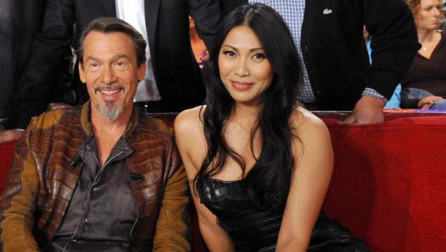 florent pagny et anggun d voilent leurs vies parall les. Black Bedroom Furniture Sets. Home Design Ideas