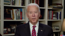 Biden says Trump's rising approval ratings are 'a typical American response' to crisis