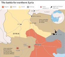 Syria rebels, regime to launch talks in Astana