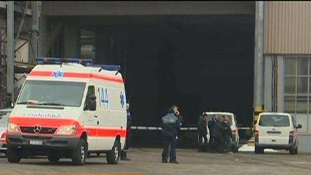 Gunman opens fire at factory