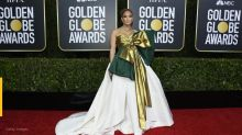 Twitter is going off on J-Lo's Golden Globes dress: 'Tonight's gown is a mess'