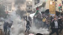 4 Palestinians dead, hundreds injured in clashes ahead of Mike Pence's visit