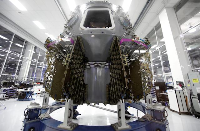 NASA sets a date for first SpaceX crew capsule test flight