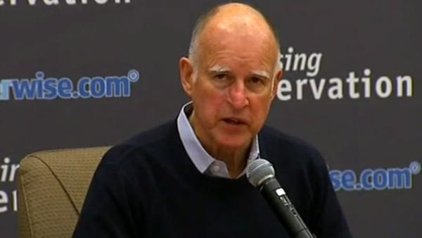 Gov. Brown meets with water leaders amid drought