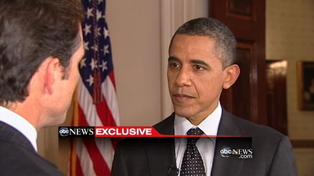 Obama on Iraq Vets in ABC News Interview