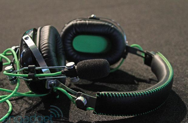 Razer BlackShark gaming headset hands-on (video)