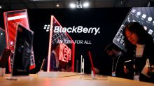 BlackBerry posts surprise revenue rise on higher software, licensing demand