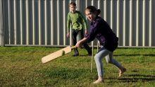 Bamboo cricket bat 'a batsman's dream'