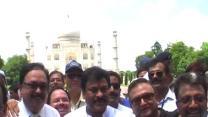 Chiranjeevi launches Clean India campaign at Taj Mahal