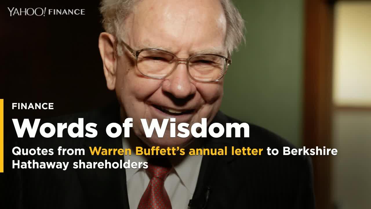 Pearls of wisdom from Warren Buffett's annual letter to ...
