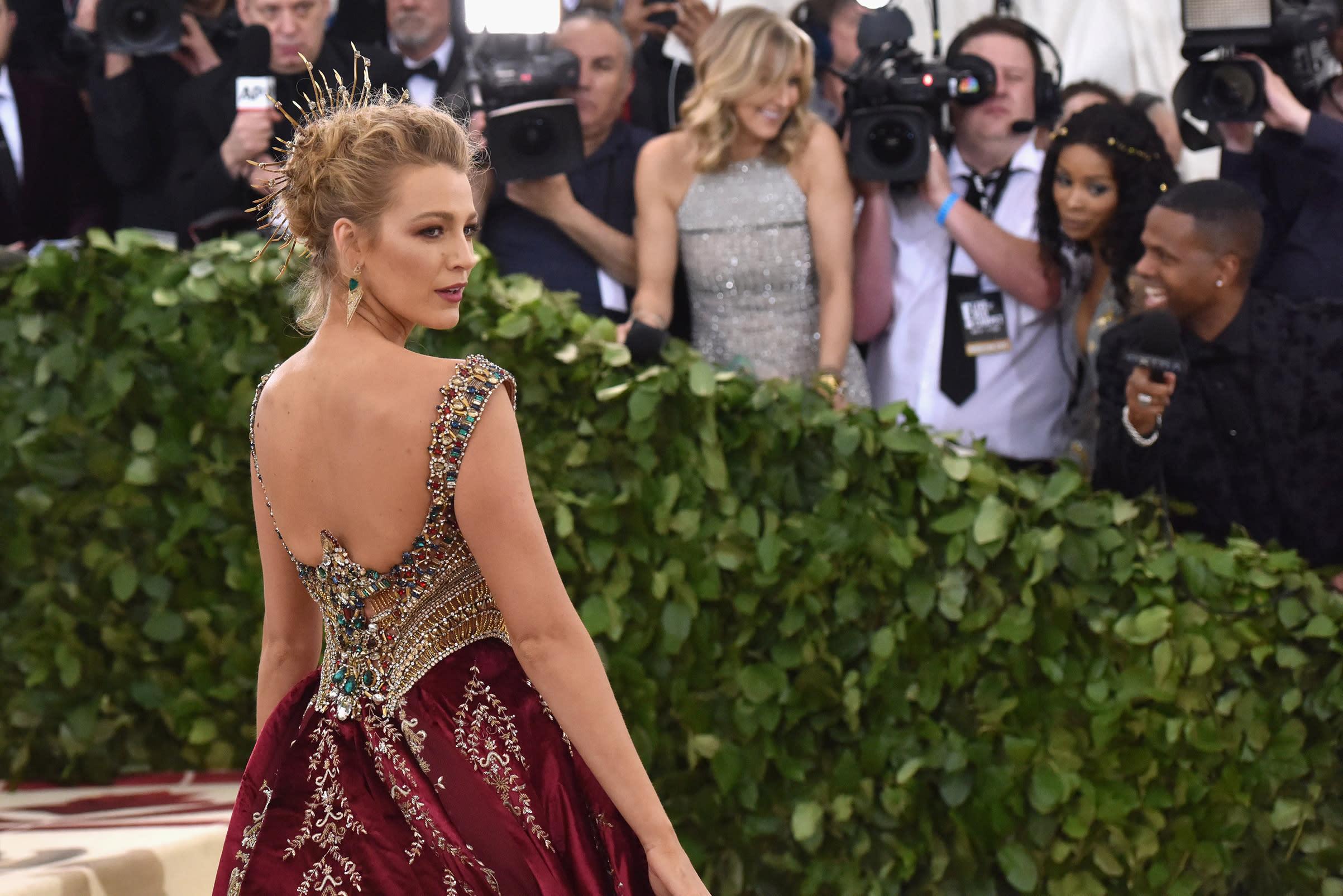 Blake Lively's Insane 2018 Met Gala Look Had $2 Million ...