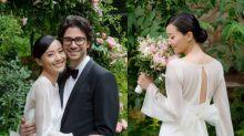 陳法拉在巴黎結婚超浪漫!婚紗、鑽戒、晚禮服品牌大公開