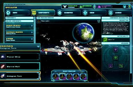 New SWTOR space combat vid highlights the Scout Fighter and Strike Fighter