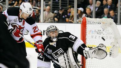 Stanley Cup in reach after Kings beat Devils 4-0