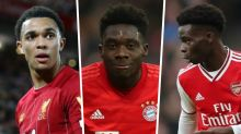 Bayern Munich star Davies names Alexander-Arnold and Saka among his favourite full-backs