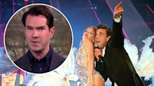 Jimmy Carr writes Kylie and Robbie's reunion song