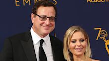Bob Saget jokes about Candace Cameron Bure's PDA photo with husband: 'Congrats on second base'