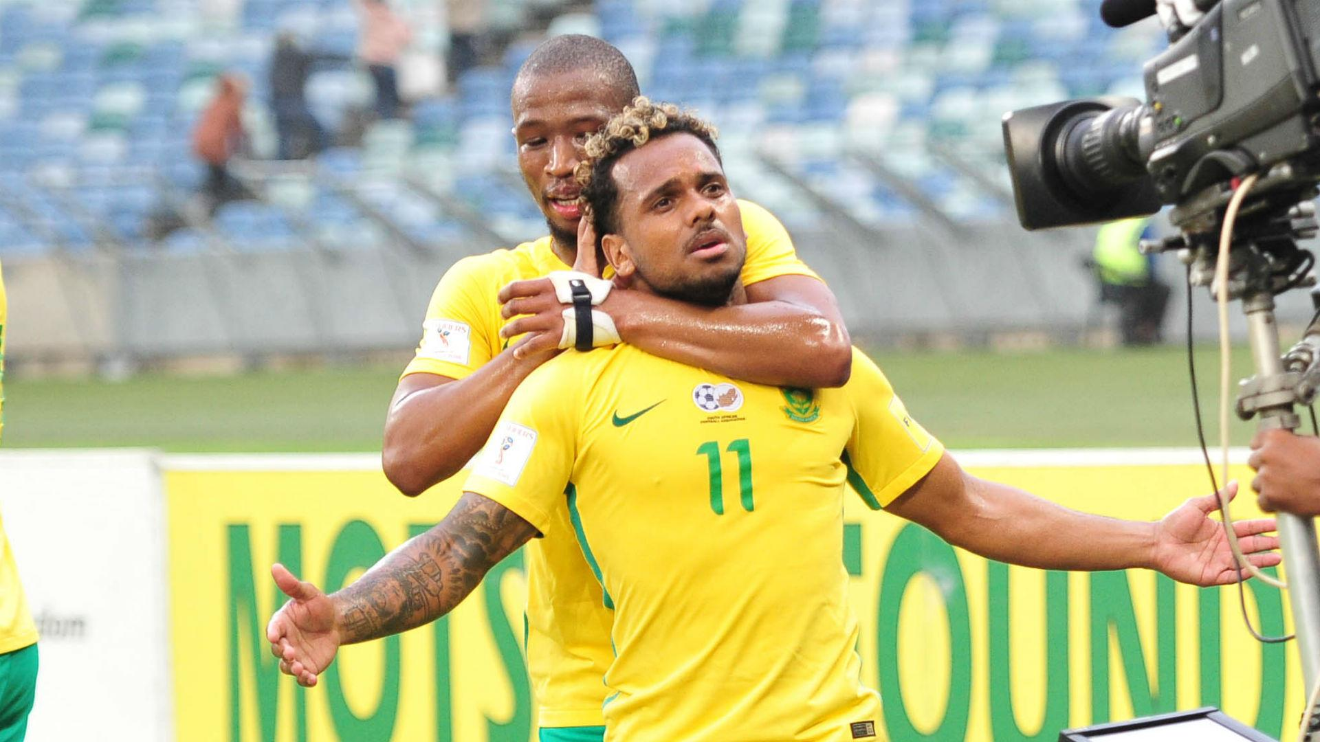 Kermit Erasmus doubtful for South Africa's clash with Nigeria