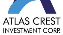 Atlas Crest Investment Corp. Announces Closing of $500 Million Initial Public Offering