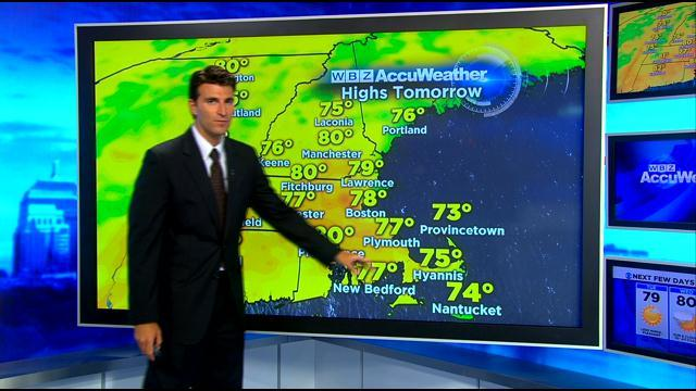 WBZ AccuWeather Evening Forecast For July 29