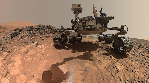 NASA's laser-shooting Mars rover can now make its own decisions