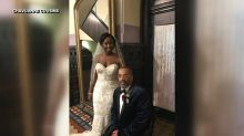 Paralyzed dad 'thrilled' to dance with daughter on wedding day