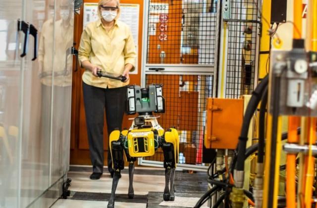 Ford deploys Boston Dynamics' Spot robots to survey Michigan plant